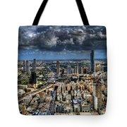 Tel Aviv Love Tote Bag by Ron Shoshani