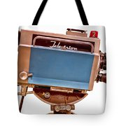 Television Studio Camera Hdr Tote Bag by Edward Fielding