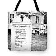 Ten Commandments Tote Bag by Scott Pellegrin