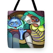 Tender Moments Tote Bag by Anthony Falbo