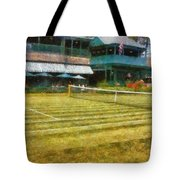 Tennis Hall Of Fame - Newport Rhode Island Tote Bag by Michelle Calkins