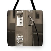 Texaco Skychief - Tokheim Gas Pump 2 Tote Bag by Mike McGlothlen