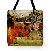 Texas Rodeo Tote Bag by Corporate Art Task Force