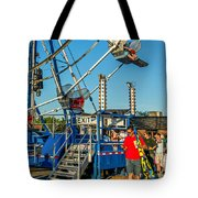 Text Softly...and Carry A Big Stick Tote Bag by Steve Harrington