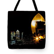 Thames Barrier Tote Bag by Dawn OConnor