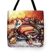 Thanksgiving Dinner Tote Bag by Shana Rowe Jackson