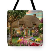 Thatched Cottage Tote Bag by Adrian Chesterman