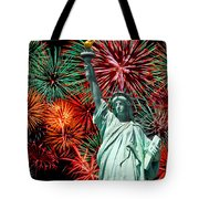 The 4th Of July Tote Bag by Anthony Sacco