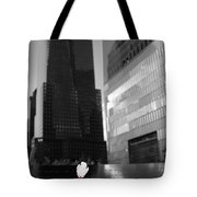 The 911 Memorial In Black And White Tote Bag by Dan Sproul