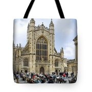 The Abby At Bath Tote Bag by Mike McGlothlen