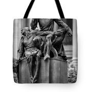 The Actor Statue Philadelphia Tote Bag by Bill Cannon