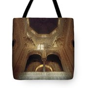 The Alhambra The Infantas Tower Tote Bag by Guido Montanes Castillo
