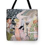 The Angels Kitchen Tote Bag by Eugene Grasset