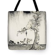 The Animals You Know Are Not As They Are Now Tote Bag by Arthur Rackham