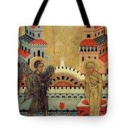 The Annunciation Tote Bag by Fedusko of Sambor