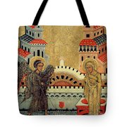 The Annunciation Tote Bag by Fedusko of Sambor