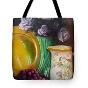 The Antique Pitcher Tote Bag by Marlene Book