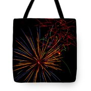 The Art Of Fireworks  Tote Bag by Saija  Lehtonen
