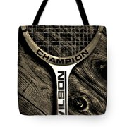 The Art of Tennis 2 Tote Bag by Benjamin Yeager
