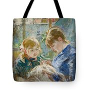 The Artists Daughter Tote Bag by Berthe Morisot