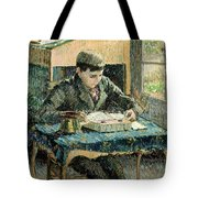 The Artists Son Tote Bag by Camille Pissarro