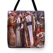 The Ascension Tote Bag by Harold Copping