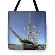 The BALCLUTHA Historic 3 Masted Schooner - San Francisco Tote Bag by Daniel Hagerman