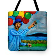The Balloon Vendor Tote Bag by Cyril Maza