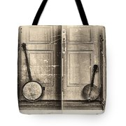 The Banjo Story Tote Bag by Bill Cannon