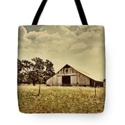 The Barn 2 Tote Bag by Cheryl Young