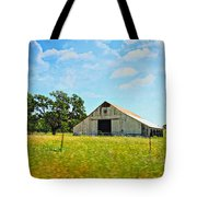 The Barn Tote Bag by Cheryl Young