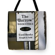 The Barrow Tote Bag by Allan Morrison