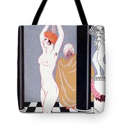 The Basin Tote Bag by Georges Barbier