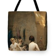 The Bathers Tote Bag by Jean Leon Gerome