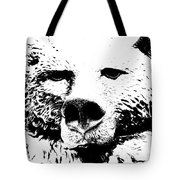 The Bear Tote Bag by Charlie and Norma Brock