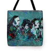 The Beatles 9 Tote Bag by MB Art factory