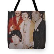 The Beatles In Color Tote Bag by Donna Wilson