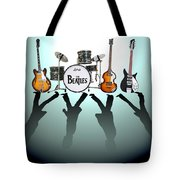 The Beatles Tote Bag by Lena Day