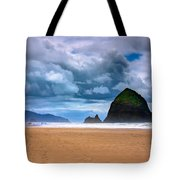 The Beautiful Cannon Beach Tote Bag by David Patterson