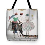 The Beautiful Savages Tote Bag by Georges Barbier