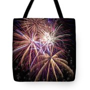 The Beauty Of Fireworks Tote Bag by Garry Gay