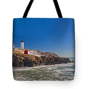 The Beauty Of Nubble Tote Bag by Joann Vitali