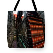 The Big Wheel Tote Bag by Adrian Evans