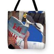 The Bird Brain Tote Bag by Madeline Ellis