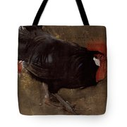 The Black Cock Tote Bag by Joseph Crawhall