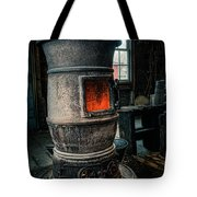 The blacksmiths furnace - Industrial Tote Bag by Gary Heller