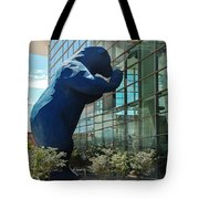 The Blue Bear  Tote Bag by Dany Lison