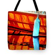 The Blue Fender Tote Bag by Anthony Dunphy