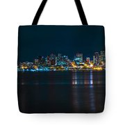 The Blue Monster Tote Bag by James Heckt