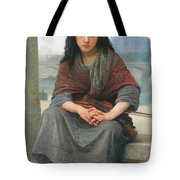 The Bohemian Tote Bag by William Adolphe Bouguereau
